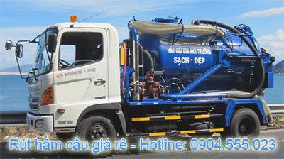 Dịch vụ rút hầm cầu giá rẻ tại HCM