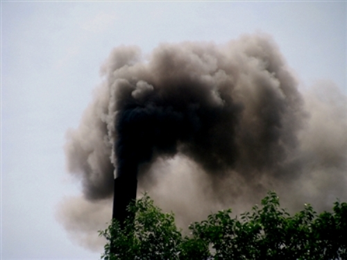 Hình ảnh ô nhiễm môi trường không khí do khói công nghiệp