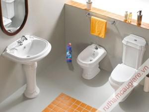 Cách khử mùi hôi trong nhà vệ sinh