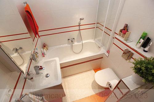 Mẫu nhà tắm đẹp với diện tích nhỏ 01