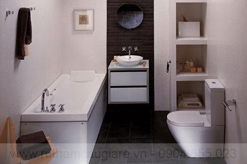 Mẫu nhà tắm đẹp với diện tích nhỏ 02