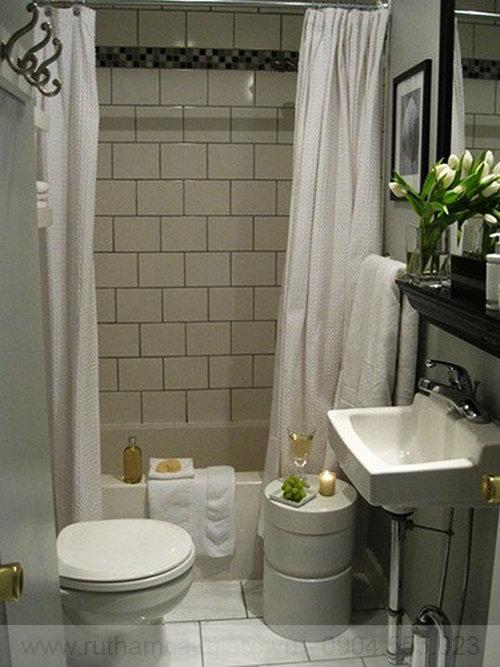 Mẫu nhà tắm đẹp với diện tích nhỏ 05
