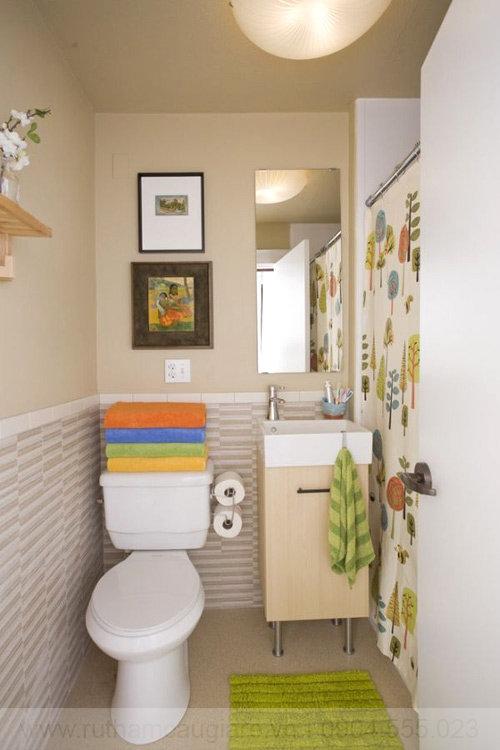 Mẫu nhà tắm đẹp với diện tích nhỏ 08