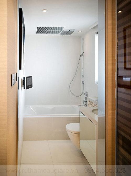 Mẫu nhà tắm đẹp với diện tích nhỏ 10