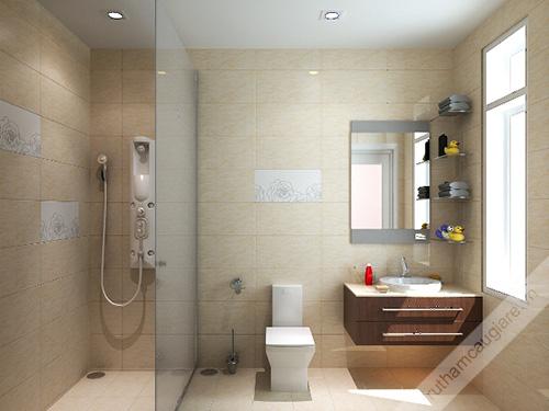 Mẫu nhà vệ sinh đẹp hiện đại, sang trọng