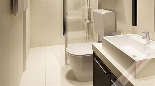 Mẫu nhà vệ sinh đẹp hiện đại và sang trọng