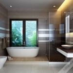 Một mẫu nhà vệ sinh đẹp khá phù hợp với phong thủy