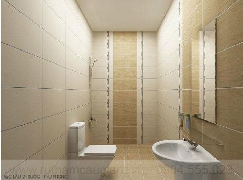 Mẫu phòng tắm đẹp đơn giản 01