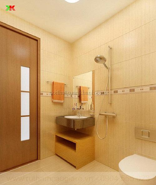 Mẫu phòng tắm đẹp đơn giản 02