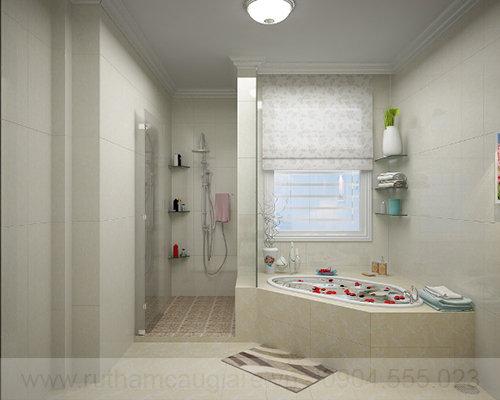Mẫu phòng tắm đẹp đơn giản 04