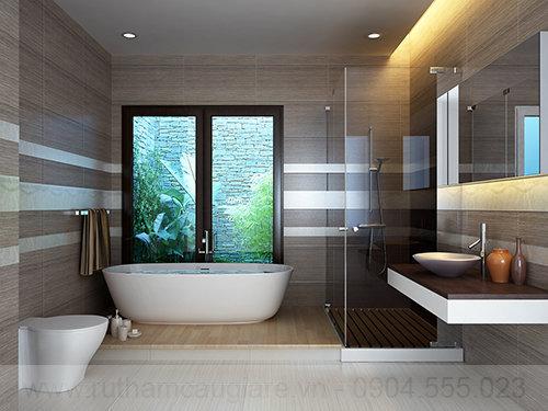 Mấu thiết kế nhà tắm đẹp hiện đại 01