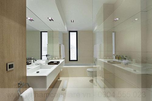 Mấu thiết kế nhà tắm đẹp hiện đại 02