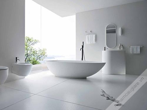 Mẫu thiết kế nhà vệ sinh đẹp hiện đại 03