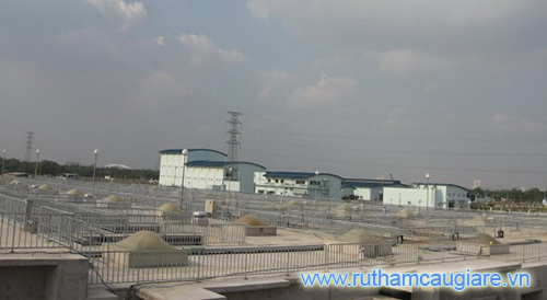 Nhà máy xử lý nước thải Bình Hưng khi hoàn thiện