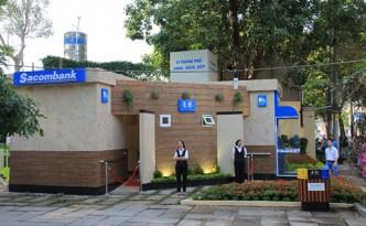 Nhà vệ sinh công cộng miễn phí của Sacombank ở TPHCM