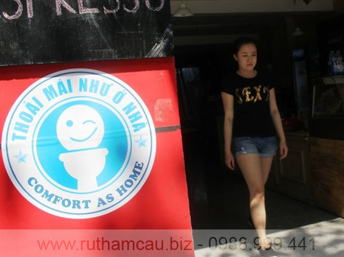 Nhà vệ sinh công cộng ở Đà Nẵng tại quán cà phê