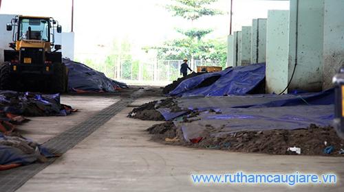 Ô nhiễm môi trường tại nhà máy xử lý nước thải Bình Hưng