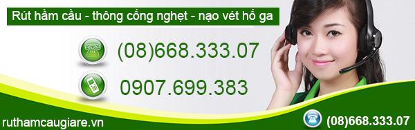 Rút hầm cầu huyện Hóc Môn giá rẻ, uy tín, chuyên nghiệp