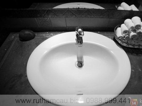 Các nhà vệ sinh công cộng ở Đà Nẵng luôn đầy đủ khăn