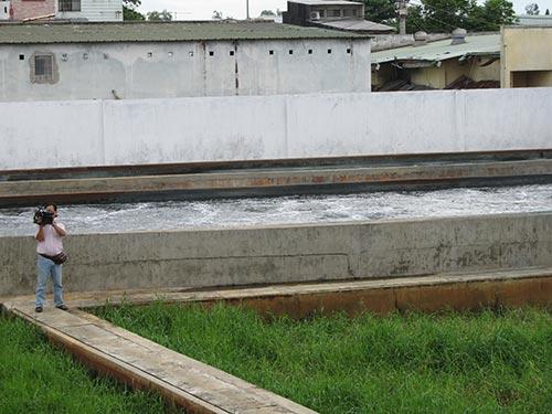 Trạm xử lý nước thải KCN Tân Thới Hiệp