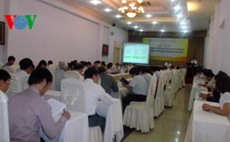 Hội thảo về những vấn đề cấp bách về bảo vệ môi trường
