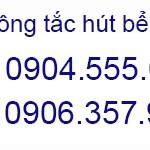 Số điện thoại hút bể phốt giá rẻ